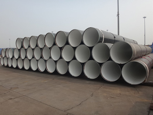 SSAW STEEL PIPES for  transportation